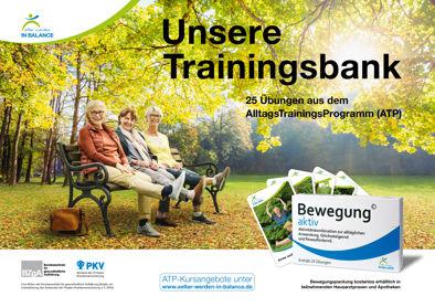 Abbildung Motiv: Unsere Trainingsbank